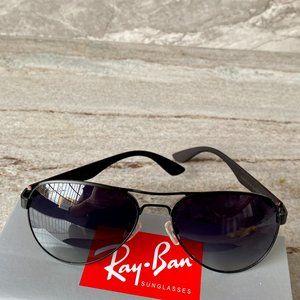NWT Ray-Ban 3523 Metal Frame Fashion Sunglasses